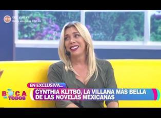 Cynthia Klitbo cuenta detalles de su nuevo proyecto en la televisión peruana