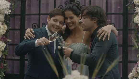 El romántico Pietro (Gian Piero Díaz), la alocada Jimena (Gianella Neyra) y el mujeriego Juan Carlos (Renzo Schuller) eran el trío perfecto, hasta que ella se tuvo que casar.