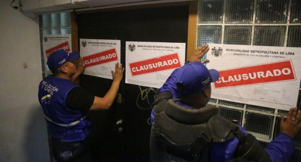Municipalidad De Lima Clausuró Bares Y Discotecas Del Jirón