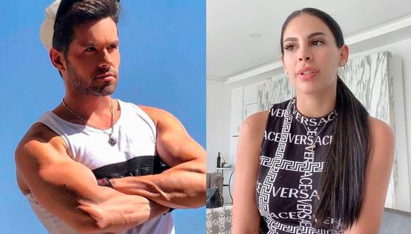 La peruana acusó al actor de agresión en noviembre de 2020, por lo que él fue recluido n una prisión. (Foto: Eleazar Gómez y Stephanie Valenzuela / Instagram)