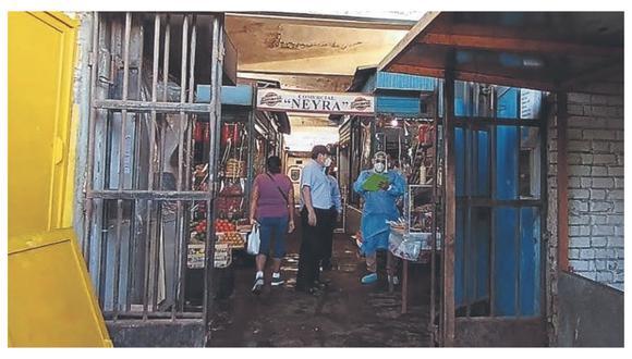 Piura: Contraloría advierte que mercado de Talara no cumple con medidas sanitarias (Foto referencial).