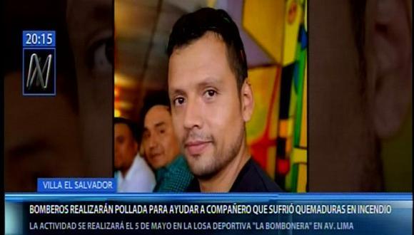 En el informe periodístico se indica que René Saldívar ya fue dado de alta y que se le colocó injertos de piel. Él fue atendido en el hospital Guillermo Almenara. (Canal N)