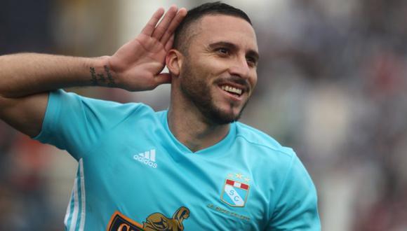 Emanuel Herrera fue elegido como el 'Mejor Jugador' de la temporada 2020 de la Liga 1. (Foto: GEC)