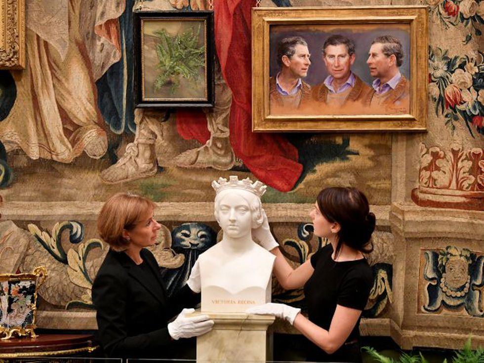 """""""Los visitantes de la apertura de verano podrán disfrutar una selección de obras de arte seleccionadas personalmente por su Alteza Real"""", informó en su página web la Royal Collection Trust. (Foto: Reuters)"""