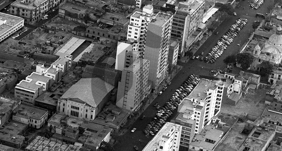 Así se veía el centro de Lima desde el cielo en 1960 - 5