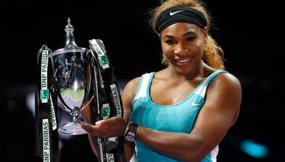Serena Williams venció a Halep y ganó el Masters de Singapur