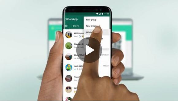 Para algunos usuarios es muy molesto escanear el código QR cada vez que ingresa a la versión web de esta popular aplicación que tiene más de 100 millones de usuarios en el mundo. (Foto: WhatsApp)