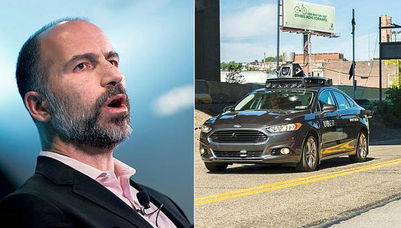 Dara Khosrowshahi, CEO de Uber, dijo que esperan reanudar pruebas con vehículos autónomos antes de fin de año. (Fotos: AFP)