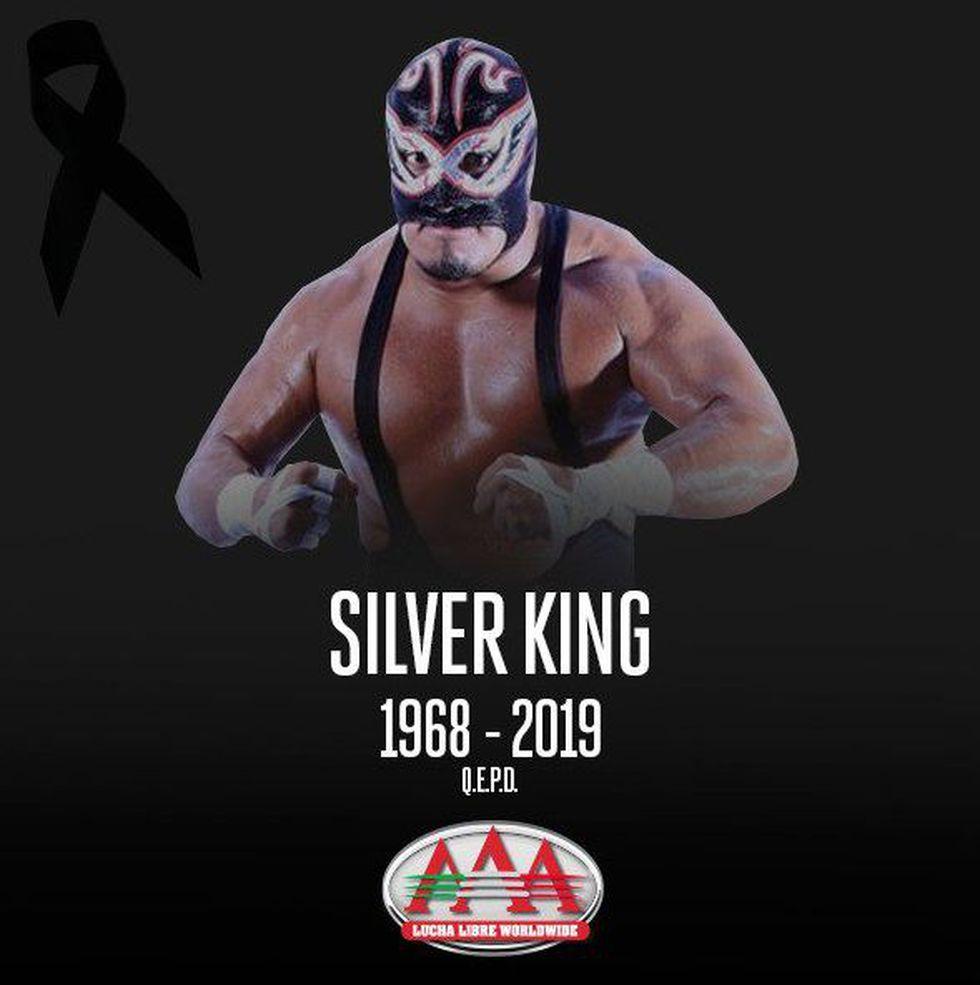 La leyenda mexicana Silver King falleció en Londres durante una pelea de lucha libre. (Foto: AFP)