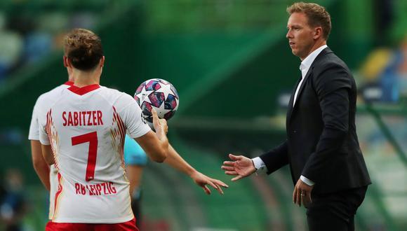 Julian Nagelsmann, de 33 años, sueña con ser el entrenador más joven en ganar la Champions League   Foto: REUTERS