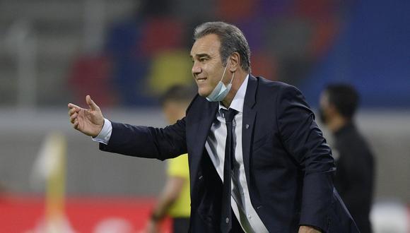Martín Lasarte es entrenador de Chile desde febrero de este 2021. (Foto: Reuters)