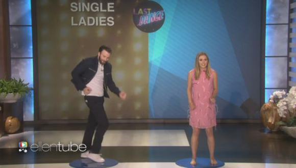 Elizabeth Olsen y Chris Evans sorprenden con pasos de baile