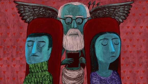 ¿Se puede reparar el amor? ¿Una relación de pareja puede sobrevivir con ayuda de la terapia? (ilustración: Víctor Aguilar)