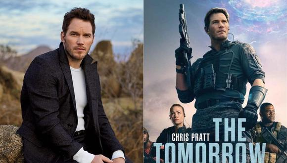 """""""La guerra del mañana"""" es una película protagonizada por el actor Chris Pratt. (Foto: @prattprattpratt/Amazon Prime Video)."""