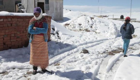 Senamhi prevé caída de nevadas en zonas altas de la sierra sur