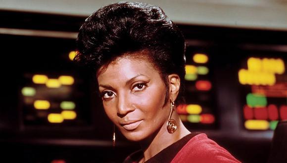 """Star Trek"": Hospitalizan a Nichelle Nichols, la teniente Uhura"