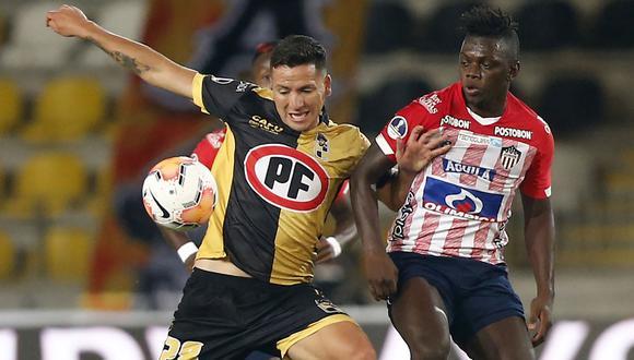 Coquimbo y Junior por la Copa Sudamericana 2020.