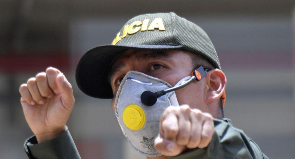 Al igual que muchos otros países, Colombia fue puesto en jaque por el nuevo coronavirus (Foto: AFP)