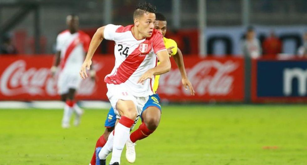Cristian Benavente no fue considerado para los amistoso de marzo en la selección peruana. (Foto: GEC)