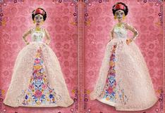 Con maquillaje de 'Catrina', encaje y oro: así luce la nueva Barbie Día de Muertos a la venta en Perú