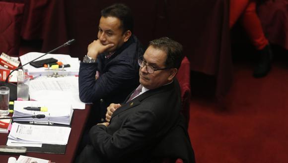 Richard Acuña y Luis Iberico votaron a favor de la elección de Ortiz de Zevallos para el TC. (Foto: GEC)