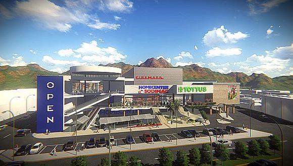 El centro comercial abrirá en el 2016 y competirá con el Real Plaza.(Foto referencial: Open Plaza)