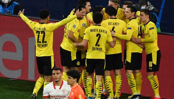 Sigue aquí la transmisión del partido entre Dortmund y Sevilla | Foto: AFP