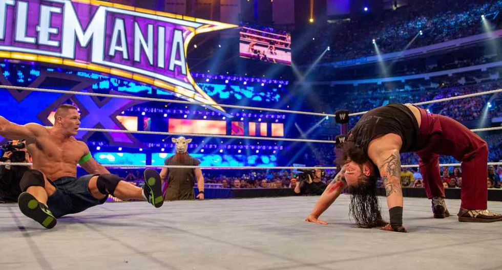 Bray Wyatt perdió contra John Cena en Wrestlemania 30. (Foto: WWE)