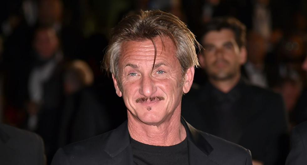 El actor Sean Penn y su novia  Leila George se encuentran ayudando a médicos de su ciudad. (AFP).
