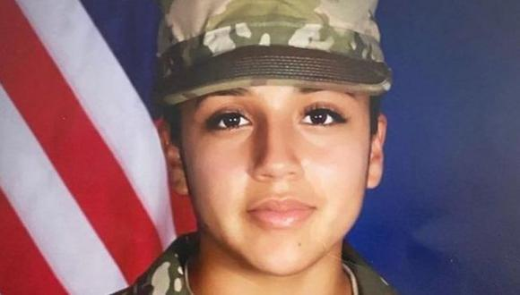 Vanessa Guillen tiene el rango de soldado de primera clase de las fuerzas armadas de EE.UU. en Texas. (Ejército de Estados Unidos).