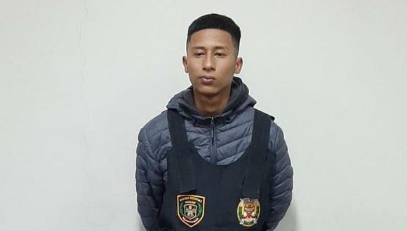 Raycon Pool Lender Zapata Muñoz (18) admitió el asesinato que cometió ante la Policía y delató al autor intelectual que lo contrató. (FOTO:PNP)