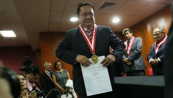 Las investigaciones al fiscal supremo Luis Arce y los otros implicados serán por 60 días. (Foto: Miguel Bellido / GEC)
