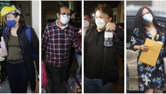 Roca, Vásquez, Cisneros, Morales y otros implicados en el Caso Richard Swing fueron liberados la noche del jueves. (Foto: GEC)