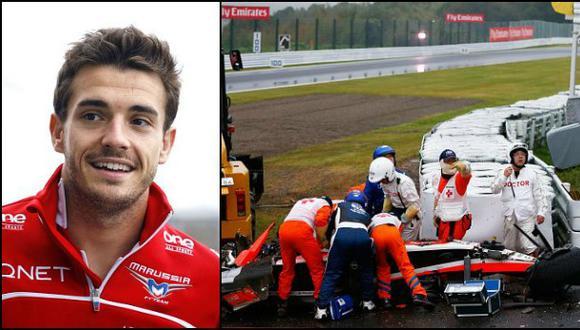 F1: Jules Bianchi sigue en estado grave tras ser operado