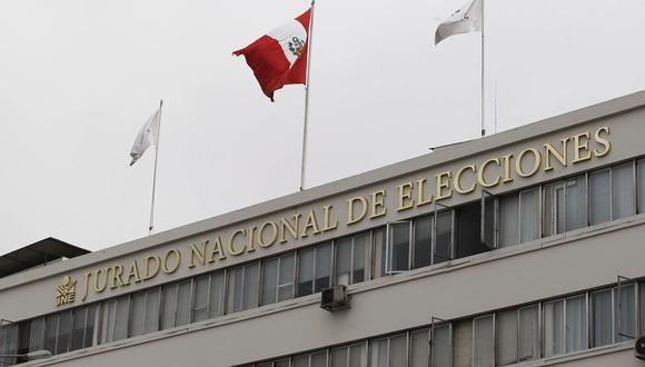 Jurado Nacional de Elecciones. (Foto: Andina)