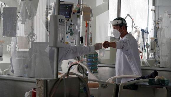 Coronavirus en Colombia   Últimas noticias   Último minuto: reporte de infectados y muertos por COVID-19 hoy, lunes 10 de mayo del 2021. (Foto: EFE/Carlos Ortega).