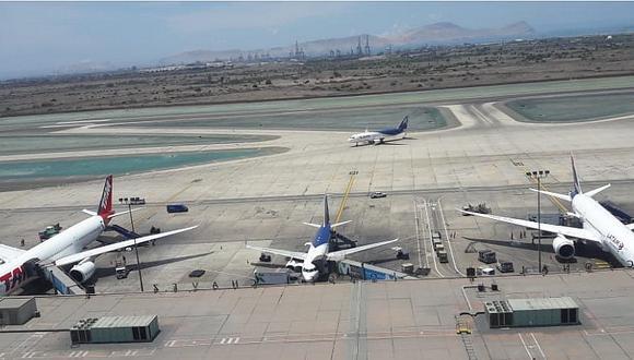 El Aeropuerto Jorge Chávez tendrá capacidad para 35 millones de pasajeros cuando se complete su expansión en el 2024.