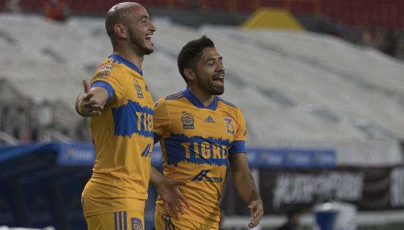 Con un gol de Carlos Gonzáles Espínola y otro de Julián Quiñones, los felinos han sumado su segunda victoria en esta Liga MX.  | Foto: Tigres Oficial