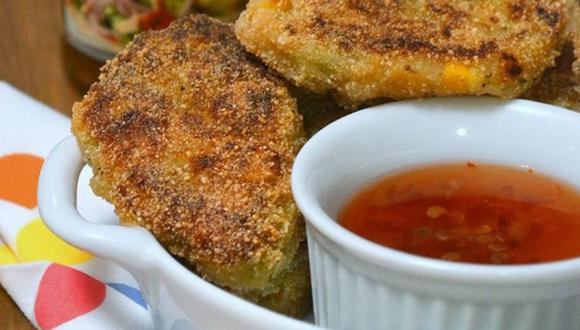 Estos crujientes y deliciosas nuggets caseros de berenjena serán tus favoritos. (Foto: Pinterest | Susana Ponczek)