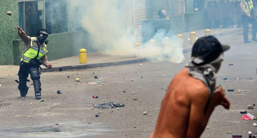 Venezuela: Duros enfrentamientos en calles de Caracas [FOTOS] - 26