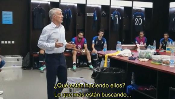 Deschamps es entrenador de la Selección de Francia desde el 2012. (Foto: Captura YouTube)