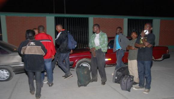 Haitianos ingresaron al Perú ocultos en camión frigorífico