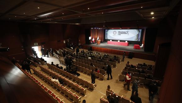 Ceremonia de entrega de credenciales a los nuevos congresistas para el período 2021/2026. (Foto: César Campos/GEC)