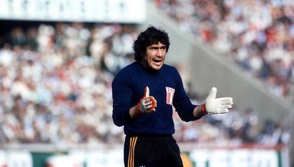 Ramón Quiroga. Otro símbolo de la selección en los Mundiales 78 y 82. FOTO: Getty Images.