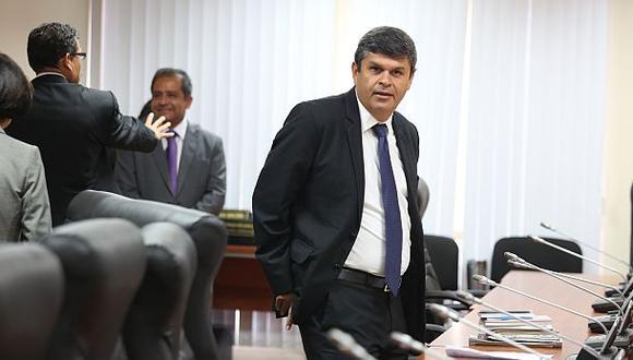"""Gastañadui señaló que las investigación por los sobornos de Odebrecht por la línea 1 del metro de Lima """"alcanzarán en algún momento"""" a Alan García"""". (Foto: Archivo El Comercio)"""