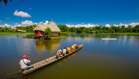 La región San Martín conquistará a mamá con sus paisajes exóticos. (Foto: UTP)