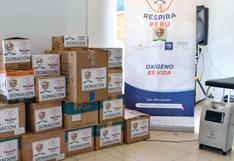 Tacna: hospital Hipólito Unanue recibe concentradores de oxígeno y camillas