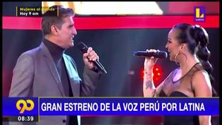 Disfruta de los mejores momentos del gran estreno de La Voz Perú