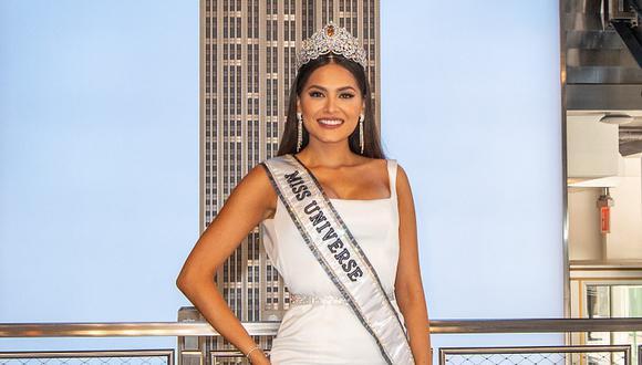 Andrea Meza ganó el Miss Universo 2021, pero estuvo a punto de dejar la competencia por una crisis de salud. (Foto: Angela Weiss / AFP)