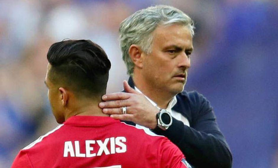 Alexis Sánchez no fue convocado para el duelo entre el Manchester United vs. Wast Ham por la Premier League. Fiel a su estilo, José Mourinho tuvo una particular aclaración (Foto: agencias)
